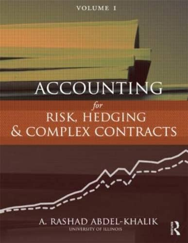 9780415808941: Accounting for Risk, Hedging and Complex Contracts