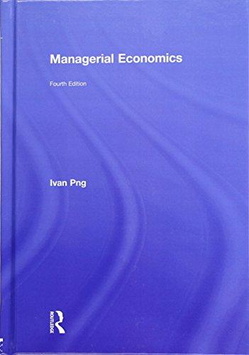 9780415809481: Managerial Economics, 4th Edition