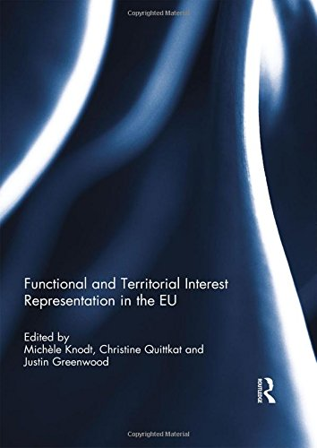 9780415809924: Functional and Territorial Interest Representation in the EU