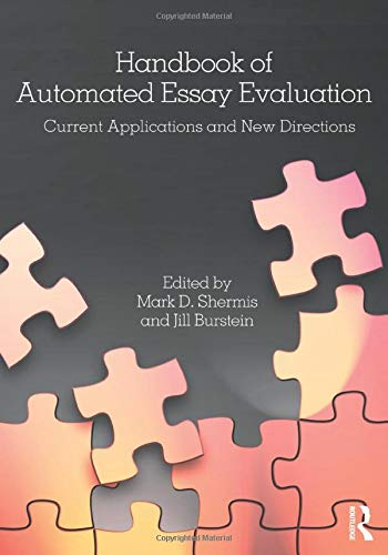 9780415810968: Handbook of Automated Essay Evaluation: Current Applications and New Directions