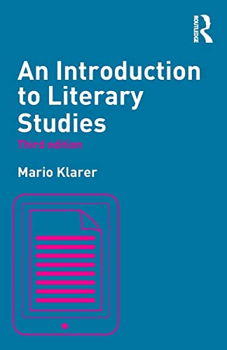 9780415811903: An Introduction to Literary Studies