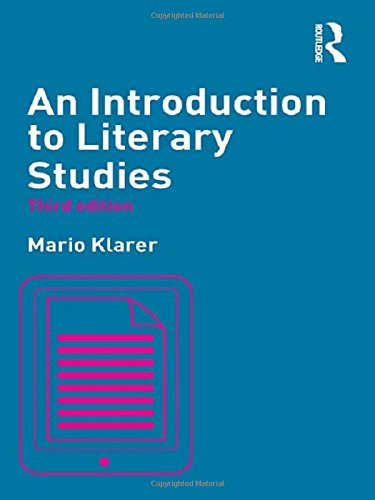 9780415811910: An Introduction to Literary Studies