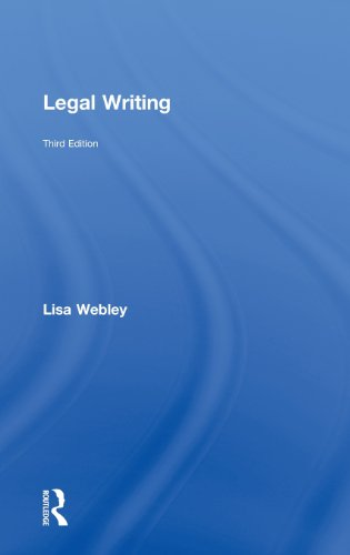 9780415812757: Legal Writing