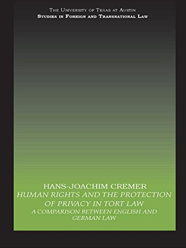 9780415813211: Human Rights and the Protection of Privacy in Tort Law: A Comparison between English and German Law