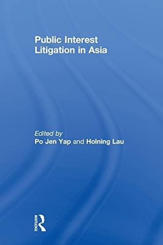 9780415813303: Public Interest Litigation in Asia