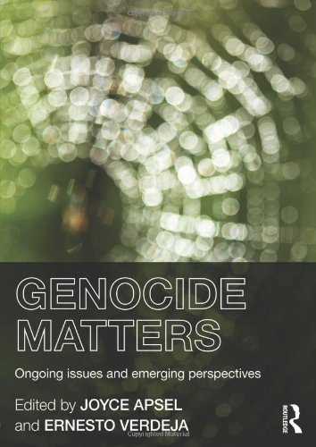 9780415814898: Genocide Matters: Ongoing Issues and Emerging Perspectives