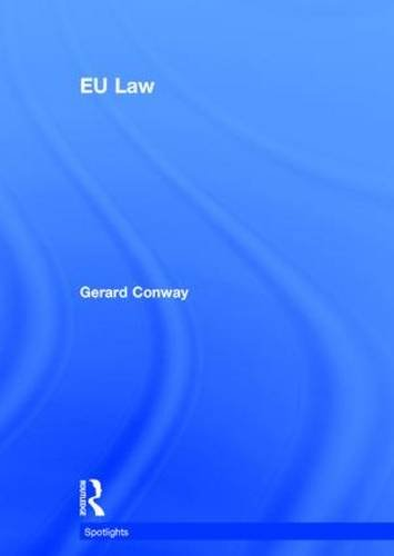 9780415816328: EU Law (Spotlights)