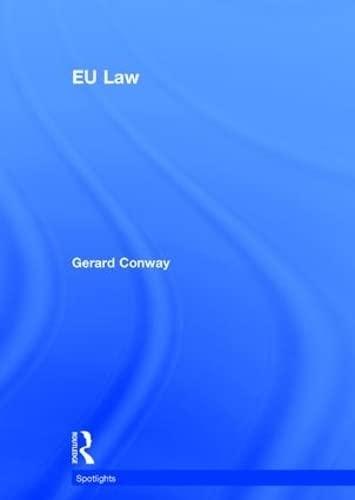 9780415816328: EU Law (Spotlights)