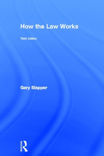 9780415816342: How the Law Works
