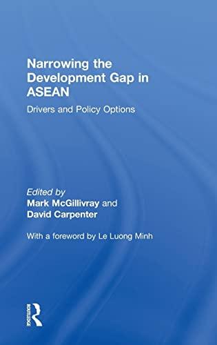 Narrowing the Development Gap in ASEAN: Drivers