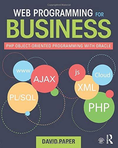 Web Programming for Business: David Paper