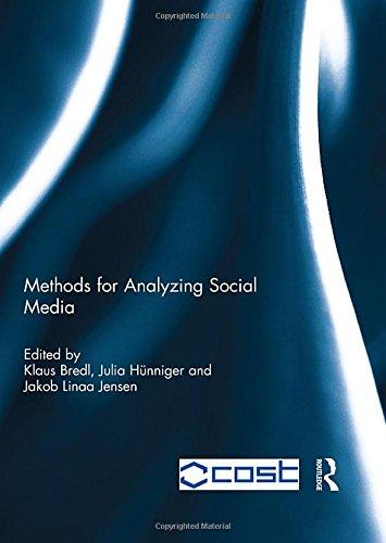 9780415818322: Methods for Analyzing Social Media