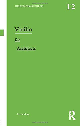 9780415819039: Virilio for Architects