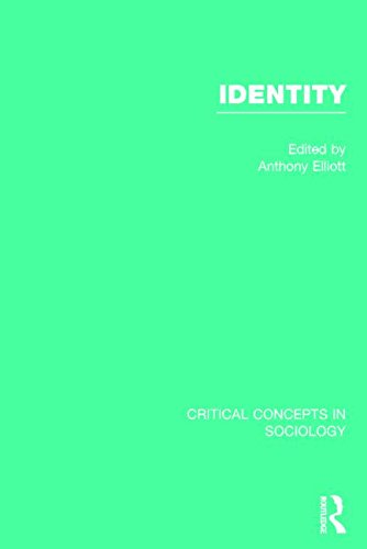 9780415823180: Identity, 4-vol. set (Critical Concepts in Sociology)