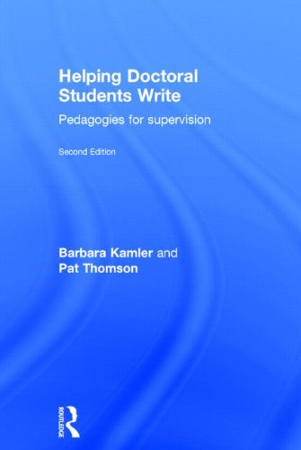 9780415823487: Helping Doctoral Students Write: Pedagogies for supervision