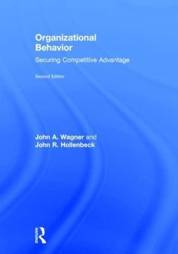 Organizational Behavior: Securing Competitive Advantage (Hardcover): John R. Hollenbeck