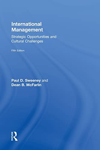 9780415825276: International Management: Strategic Opportunities and Cultural Challenges