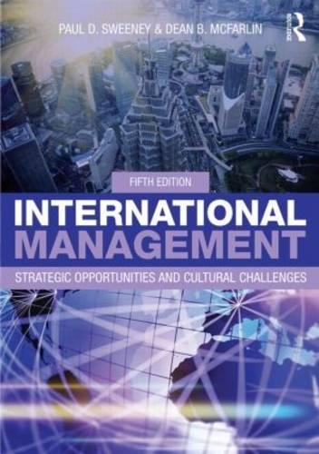 9780415825283: International Management: Strategic Opportunities and Cultural Challenges