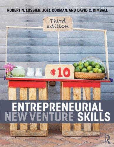 Entrepreneurial New Venture Skills: Lussier, Robert N.,