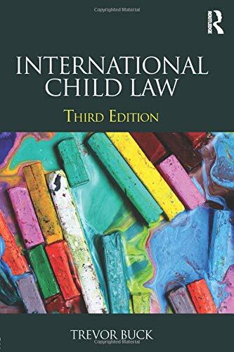 9780415825924: International Child Law
