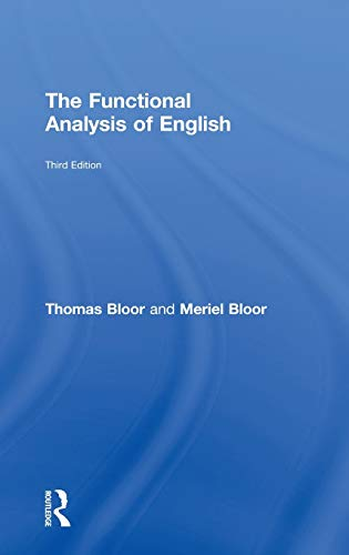 9780415825931: The Functional Analysis of English