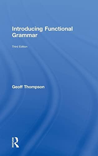 9780415826303: Introducing Functional Grammar