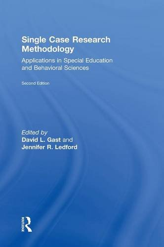 9780415827904: Single Case Research Methodology: Applications in Special Education and Behavioral Sciences