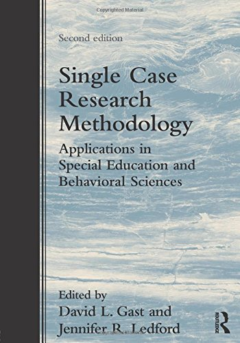 9780415827911: Single Case Research Methodology: Applications in Special Education and Behavioral Sciences