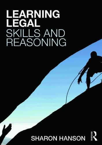 English Legal System with Legal Method, Skills: Sharon Hanson