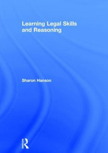 9780415830201: Learning Legal Skills and Reasoning