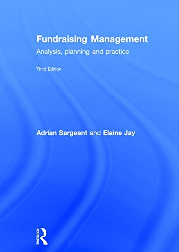 Fundraising Management: Analysis, Planning and Practice: Adrian Sargeant