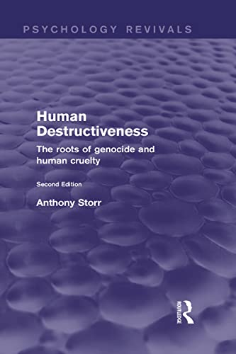 9780415832113: Human Destructiveness (Psychology Revivals): The Roots of Genocide and Human Cruelty (Volume 9)