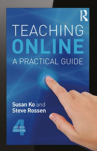 Teaching Online 9780415832434 Teaching Online: A Practical Guide is an accessible, introductory, and comprehensive guide for anyone who teaches online. The fourth edition of this bestselling resource has been fully revised, maintains its reader-friendly tone, and offers exceptional practical advice, new teaching examples, faculty interviews, and an updated resource section. New to this edition: entire new chapter on MOOCs (massive open online courses); expanded information on teaching with mobile devices, using open educational resources, and learning analytics; additional interviews with faculty, case studies, and examples; spotlight on new tools and categories of tools, especially multimedia. Focusing on the  hows  and  whys  of implementation rather than theory, the fourth edition of Teaching Online is a must-have resource for anyone teaching online or thinking about teaching online.