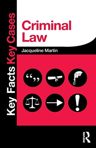 9780415833257: Criminal Law (Key Facts Key Cases)