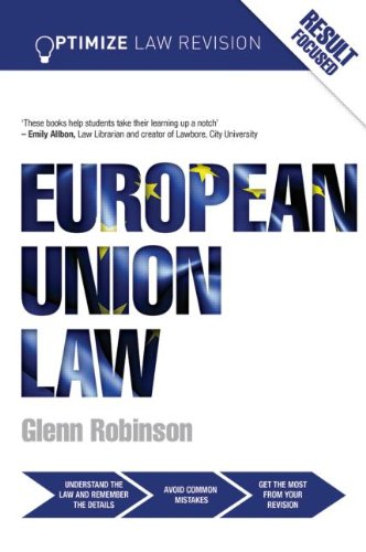 9780415834643: LJMU Law Year Two: Optimize European Union Law