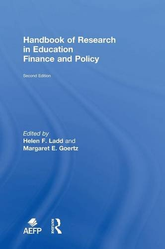 9780415838016: Handbook of Research in Education Finance and Policy