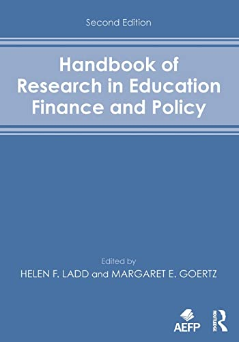 9780415838023: Handbook of Research in Education Finance and Policy