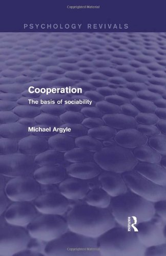 9780415838122: Cooperation (Psychology Revivals): The basis of sociability