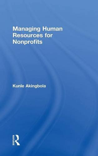 9780415840675: Managing Human Resources for Nonprofits