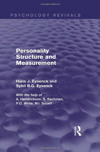 9780415840873: Personality Structure and Measurement (Psychology Revivals)