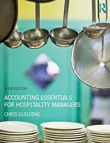 9780415841092: Accounting Essentials for Hospitality Managers