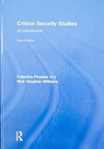 9780415841832: Critical Security Studies: An Introduction