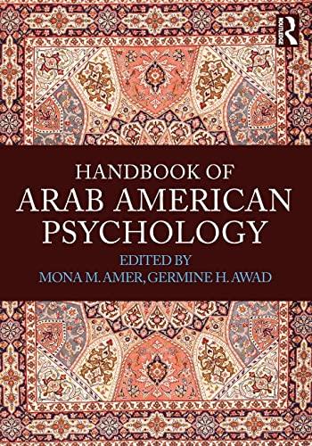 9780415841931: Handbook of Arab American Psychology