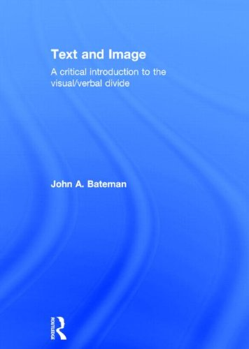 9780415841979: Text and Image: A Critical Introduction to the Visual/Verbal Divide