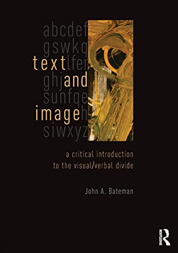 9780415841986: Text and Image: A Critical Introduction to the Visual/Verbal Divide