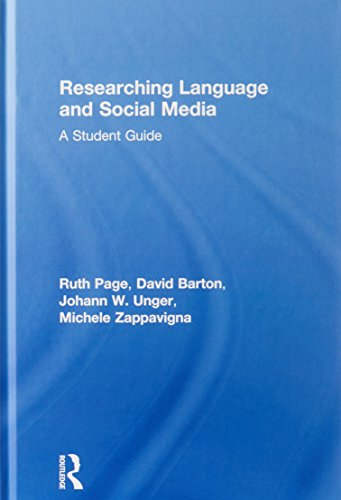 9780415841993: Researching Language and Social Media: A Student Guide