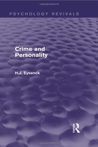 9780415842112: Crime and Personality (Psychology Revivals)