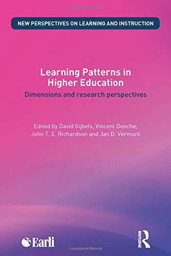 9780415842518: Learning Patterns in Higher Education: Dimensions and research perspectives (New Perspectives on Learning and Instruction)