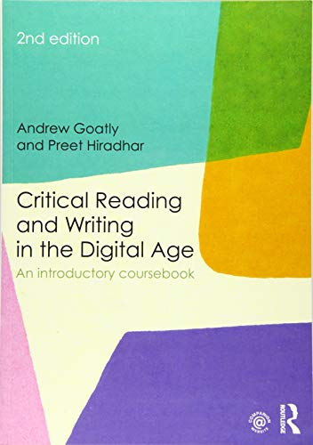 Critical Reading And Writing: Goatly, Andrew