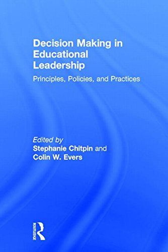 9780415843102: Decision Making in Educational Leadership: Principles, Policies, and Practices